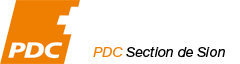 PDC Sion Logo